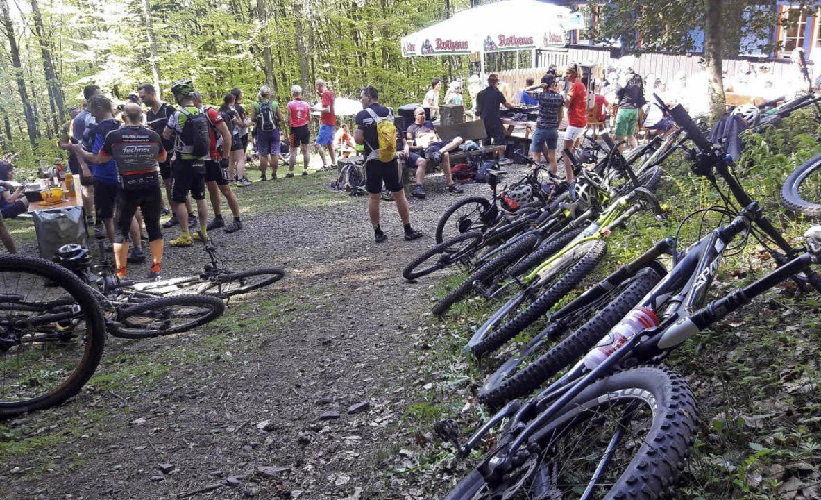 Mountainbike-Tag des Schwarzwaldvereins am Sonntag auf der Lahrer Hütte   | Foto: Christian Kramberg