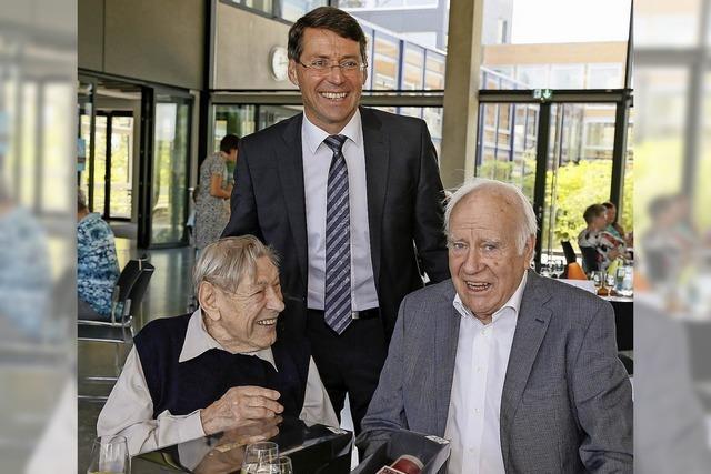 Mit 97 Jahren der Älteste