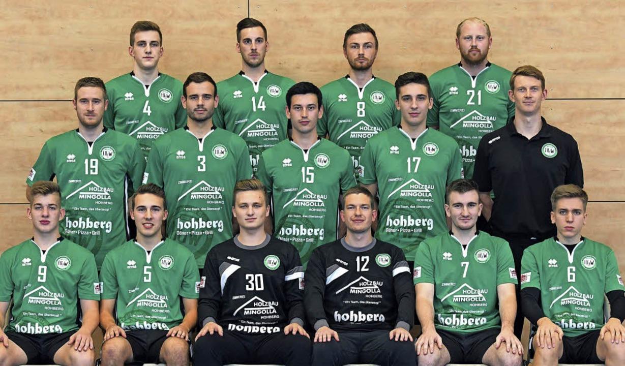 Das Hofweierer Team zu Saisonbeginn (h...ehlen: Marcel Hilger, Lukas Eichhorn.   | Foto:  Verein