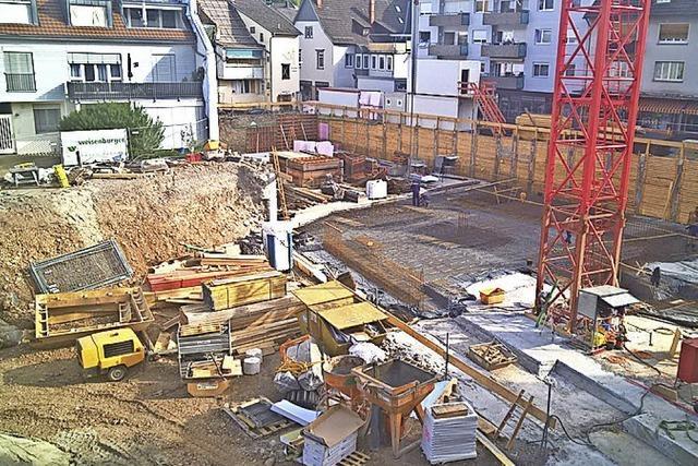 Baustellen-Blick