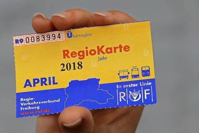 Regiokarte des Verkehrsverbunds Freiburg kostet ab August 60 Euro