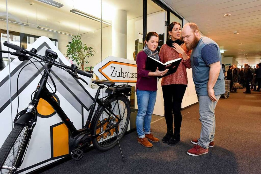 Nie ohne Fahrrad – Büro der Firma Leaserad  | Foto: Thomas Kunz