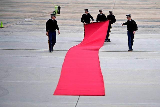 Der Handelsstreit überschattet Merkels Besuch in den USA