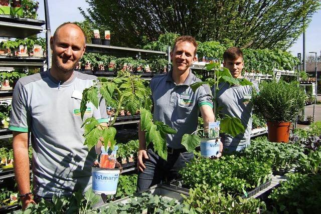 Beim Frühlingsfest der ZG Raiffeisenmärkte gibt es alles für den sommerlichen Garten