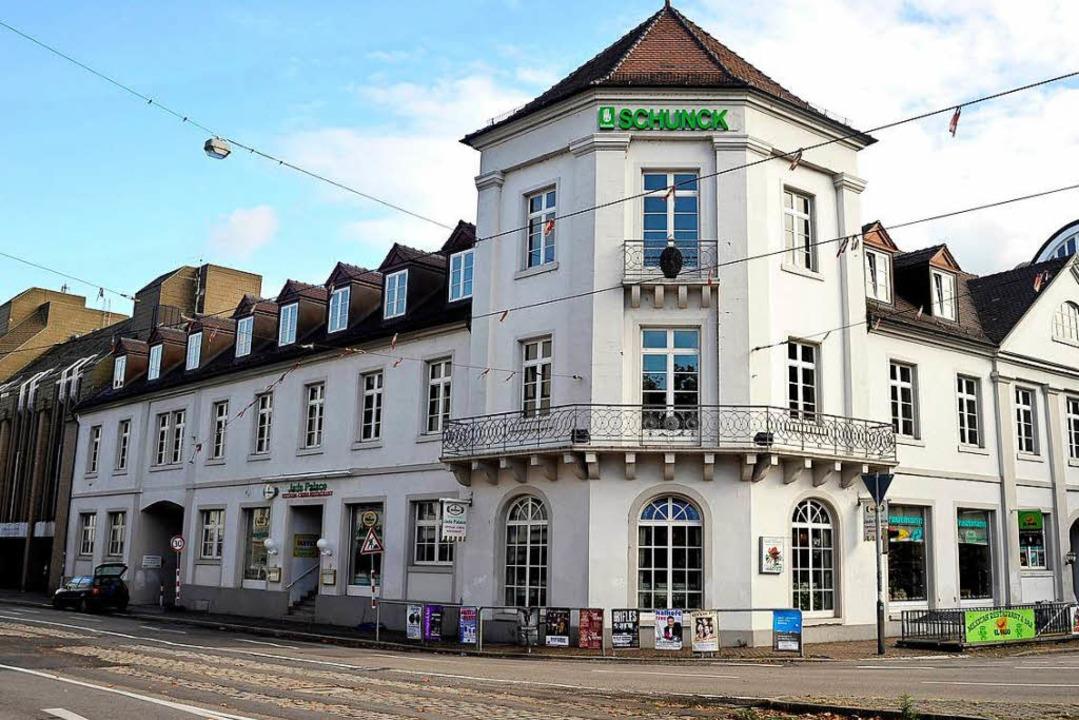 Das Schunck-Haus an der Ecke Habsburge...hier ein Archivfoto aus dem Jahr 2009.  | Foto: Thomas Kunz