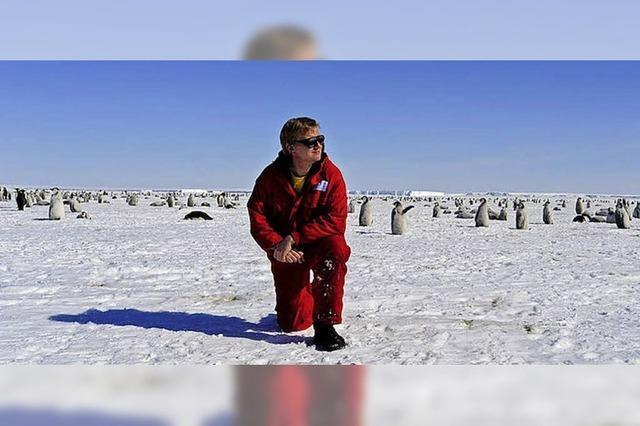 Arbeiten in der Antarktis
