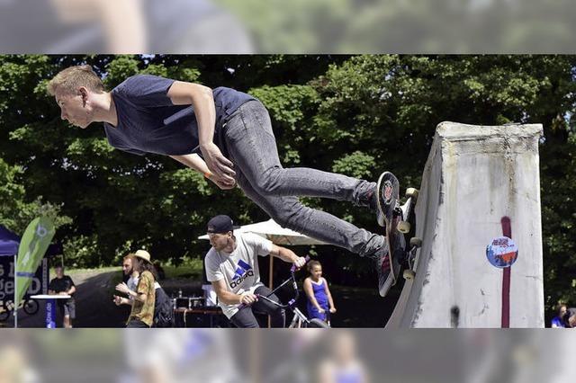 Dietenbach wird mit Bowl zum Skater-Paradies