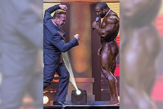 Wenn schwere Jungs ihre Muskeln spielen lassen