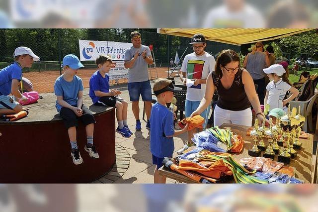 Wettbewerb wird zum Tennisfest