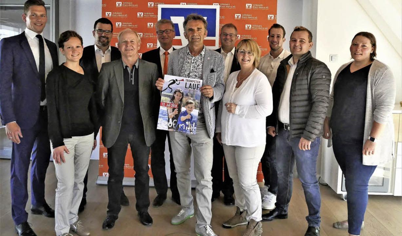 Riccardo Sibold, Daniela Trefzger, Udo... eine Marke in Bad Säckingen schaffen.  | Foto: Jörn Kerckhoff