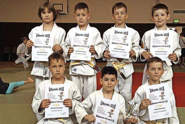 Judoka-Team auf Platz drei