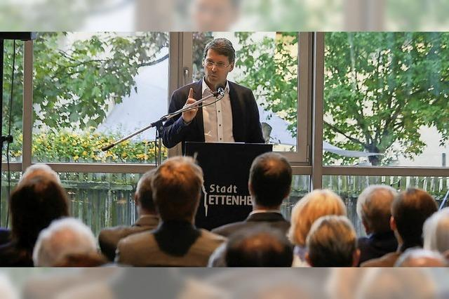 Helmut Rau appelliert an Geschlossenheit