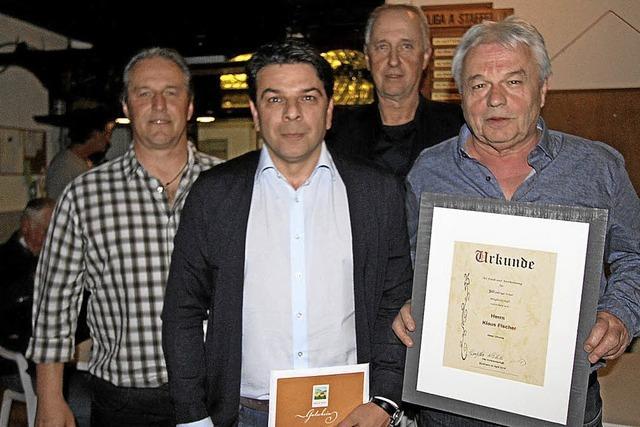 SV Burkheim ehrt Mitglieder