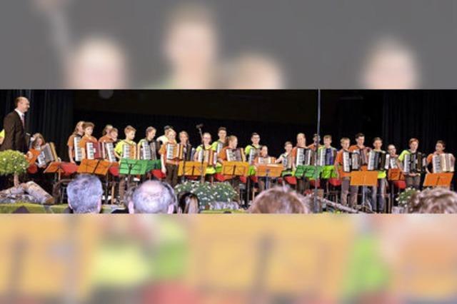 Die Jugend stellt das größte Ensemble