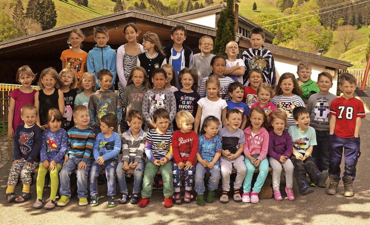 Kindergarten und Schule sind im Bildungshaus 3-10 in Aitern vereint.   | Foto: Verena wehrle