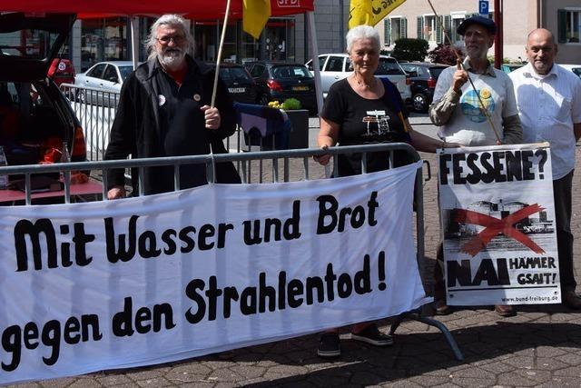 Fessenheim-Gegner treten in den Hungerstreik gegen Weiterbetrieb des AKW
