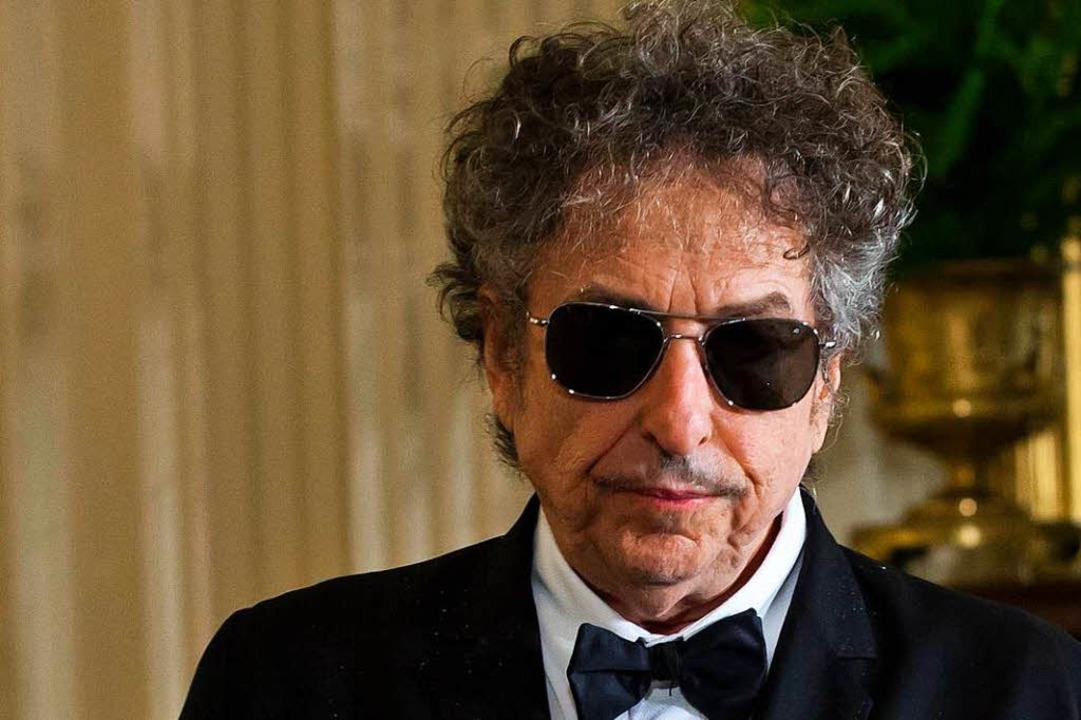 Auch auf der Konzertbühne mittlerweile ohne Hut: Bob Dylan  | Foto: dpa