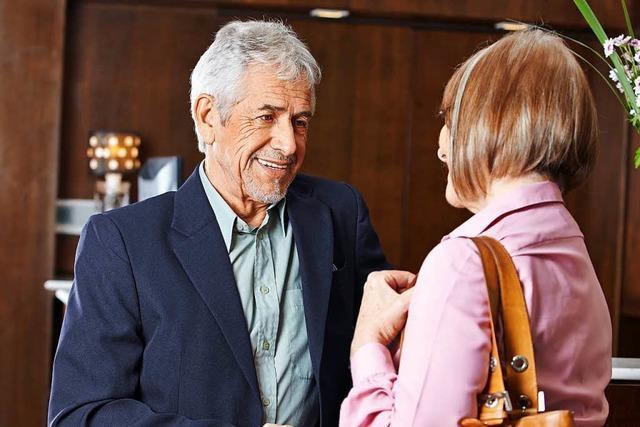 So flirtet man bis ins hohe Alter