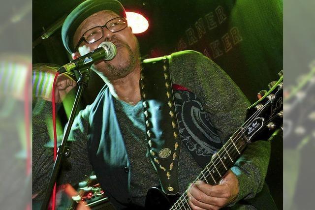 Larry Garner und Norman Beaker mit Band geben heute, Donnerstag, Konzert im Café Verkehrt in Murg-Oberhof