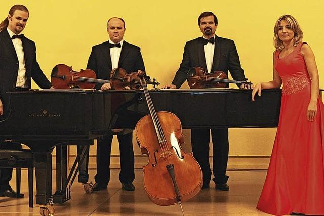 Caravaggio Quartett gastiert heute, Donnerstag, im Schulhaus in Laufenburg/Schweiz