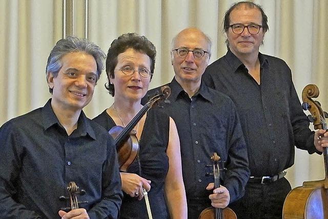 Streichkonzert mit dem Segantini Quartett auf Schloss Bürgeln bei Schliengen