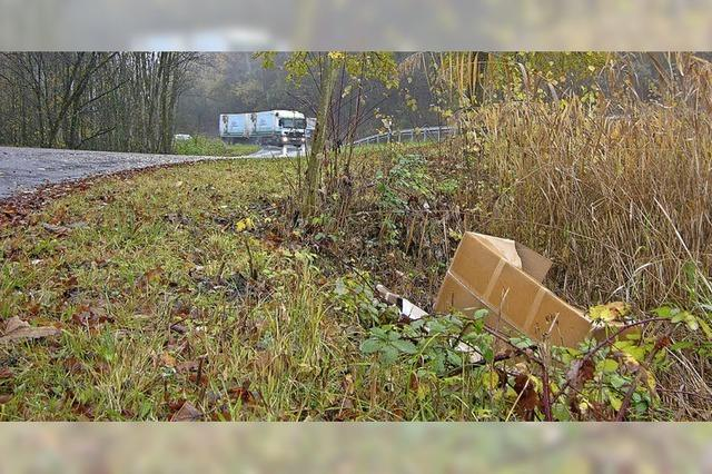 Klagen über wilde Müllablagerungen