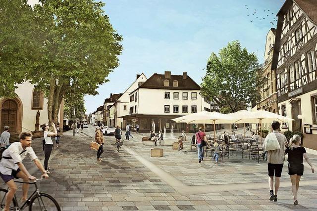 Umbau Lange Straße hat begonnen