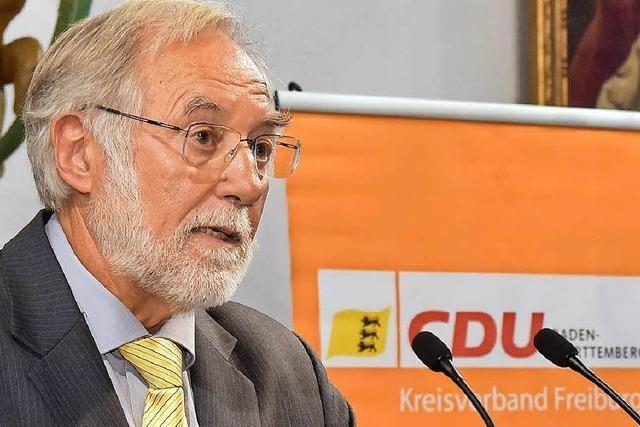 Freiburger CDU ruft zur Wahl von Amtsinhaber Dieter Salomon auf