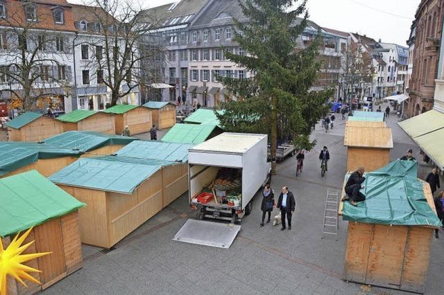 Weichenstellung für Weihnachtsmarkt