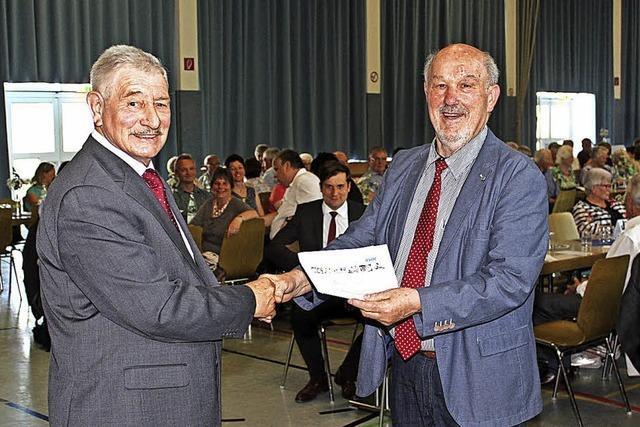 Sozialverband Merdingen feiert 70-jähriges Bestehen