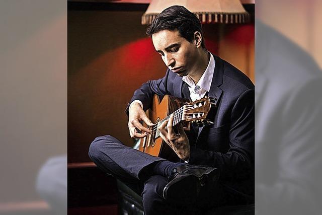 Konzert mit der Gitarre