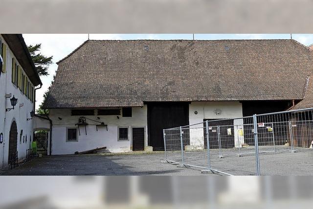 Zehn Wochen nach dem Spatenstich herrscht Stillstand im Kulturhaus