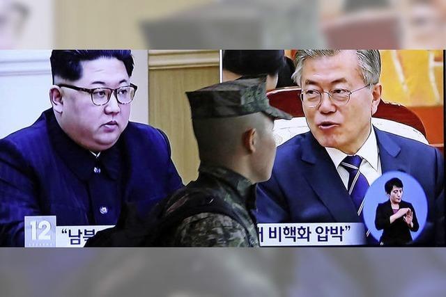 Der Diktator besucht den Klassenfeind