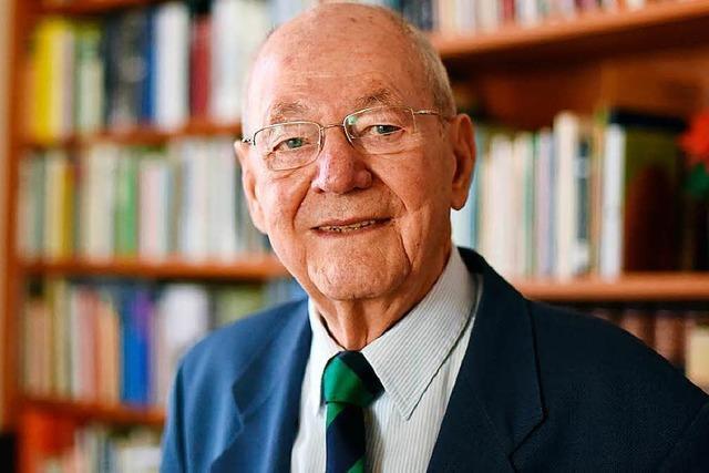Berthold Kiefer im Alter von 92 Jahren gestorben