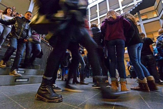 Die Freiburger Gymnasien platzen aus allen Nähten