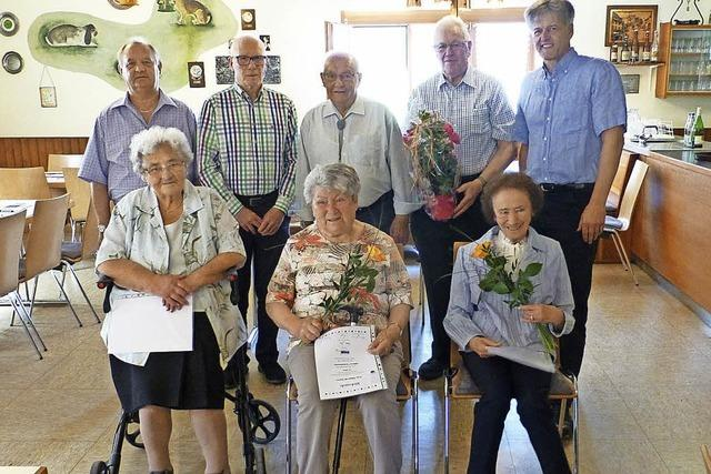 VdK Steinen ehrt zahlreiche Mitglieder