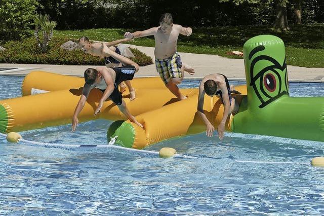 Hinein ins Vergnügen: Die Freibadsaison beginnt