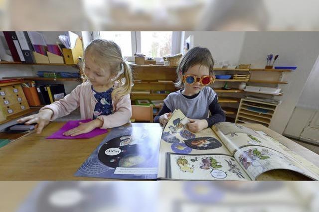 Montessori-Kinderhaus: Viel Raum für frühe Selbständigkeit