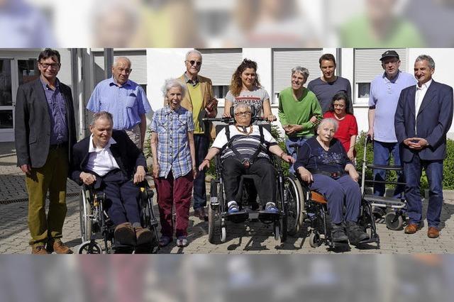 Rollstuhl-Fahrrad-Rikscha