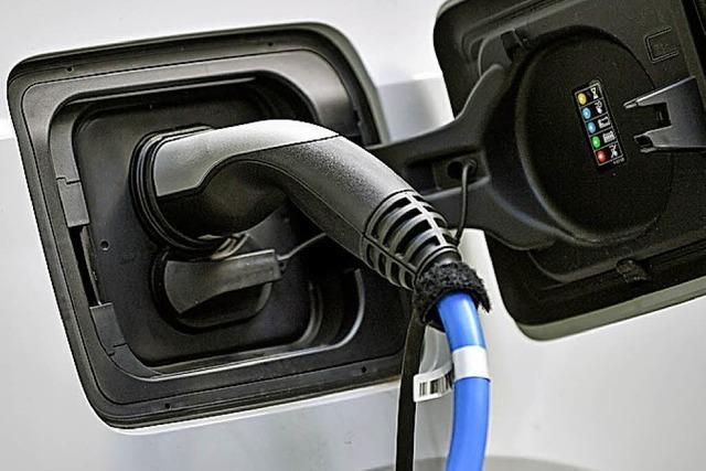 Wie nutzt das Landratsamt Elektroautos?