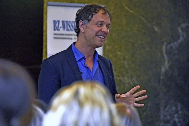 Beim BZ-Wissensforum empfahl der Neurologe Volker Busch digitalfreie Zonen