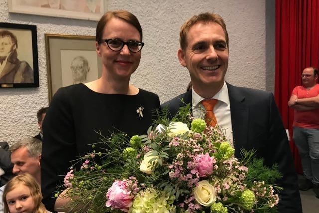 Das Los hat entschieden: Monika Neuhöfer-Avdic ist Bau-Bürgermeisterin in Lörrach