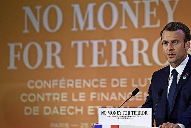 Dem Terror den Geldhahn zudrehen