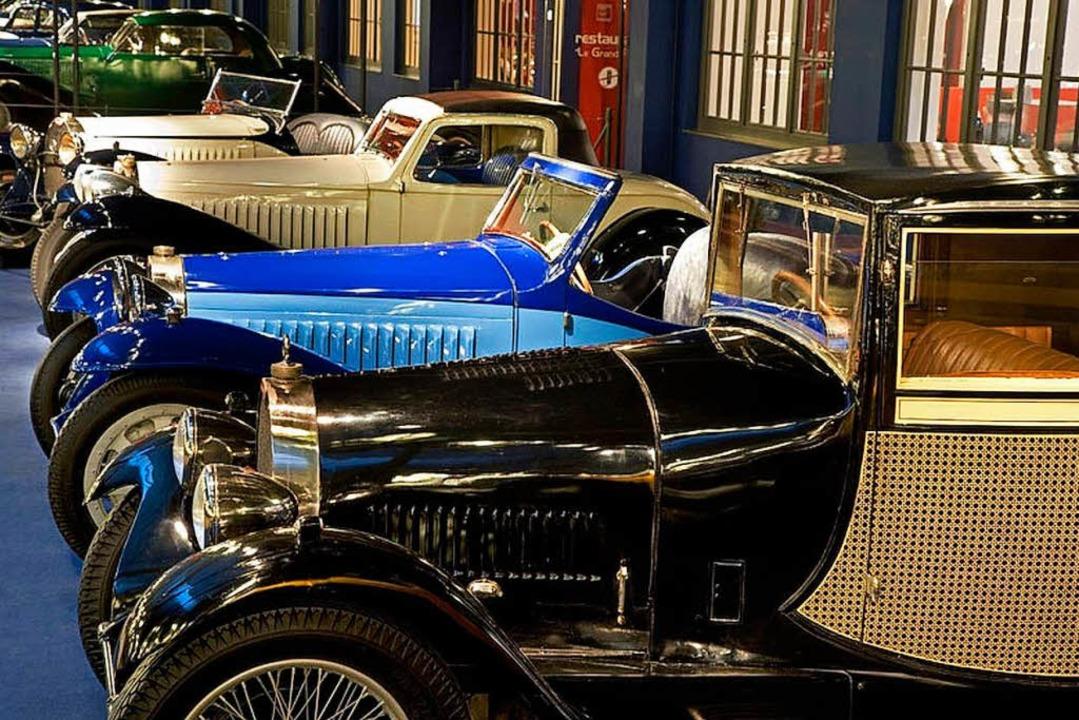 Hochkarätige Exponate in der Cité de l'Automobile  | Foto: Cité de l'Automobile, C. Recoura