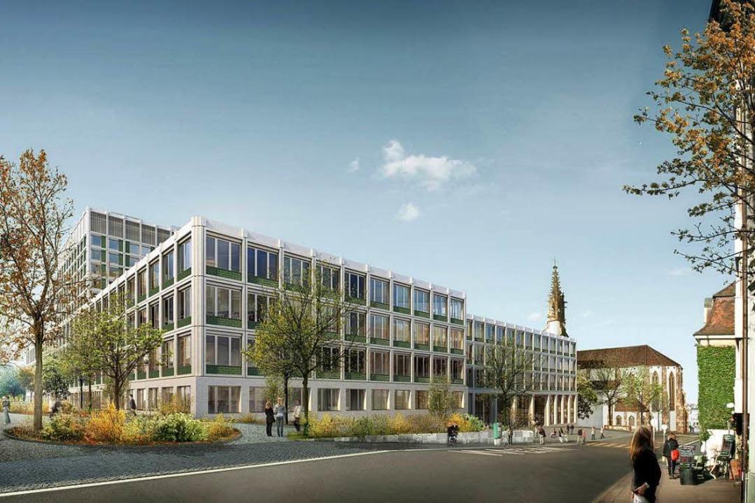 Unispital Basel auf Wachstumskurs    Foto: USB