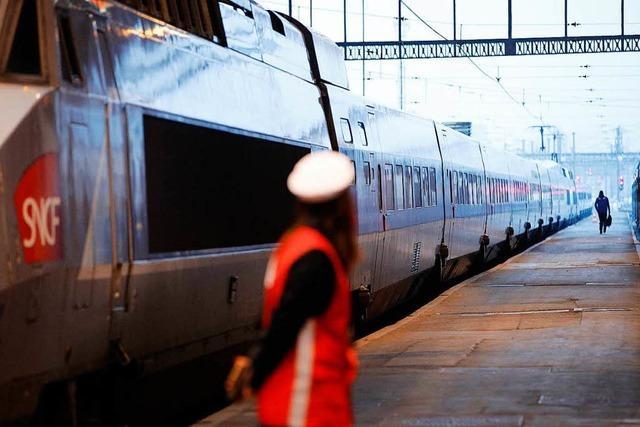 Bahnstreik in Frankreich: Auch Südwesten von Zugausfällen betroffen