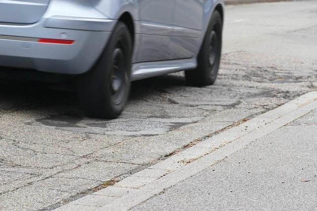 Merzhauser Ortsdurchfahrt wird 2018 nicht mehr saniert