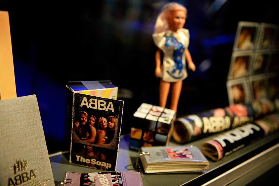 Abba sind mittlerweile auch ein Fall fürs Museum – wie hier in Stockholm.  | Foto: dpa