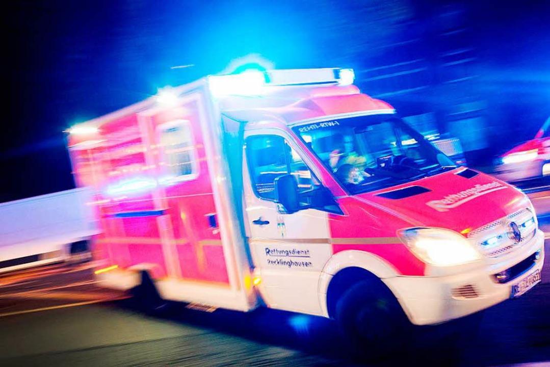 Die Rettungskräfte waren gerade auf Einsatz im Stühlinger.  | Foto: dpa
