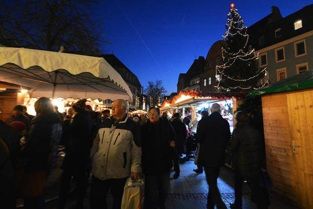 Der Weihnachtsmarkt Lörrach 2018 ist gerettet, aber teuer für die Stadt